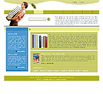 Website Shopping Cart Templates - Educational - t-0194