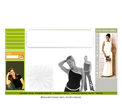 Ecommerce Template Fashion -t-0069