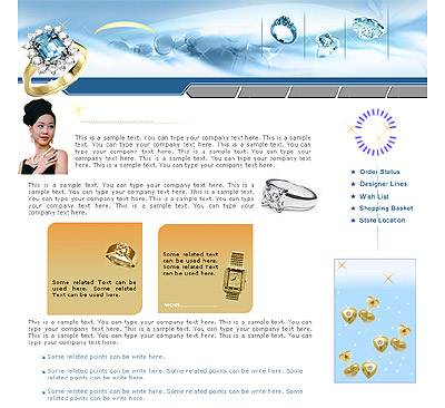 Ecommerce Template Jewelry -t-0090