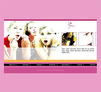 Ecommerce Template Fashion -t-0107