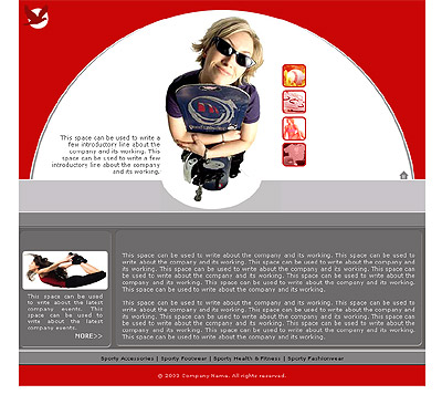 Ecommerce Template Sports -t-0160