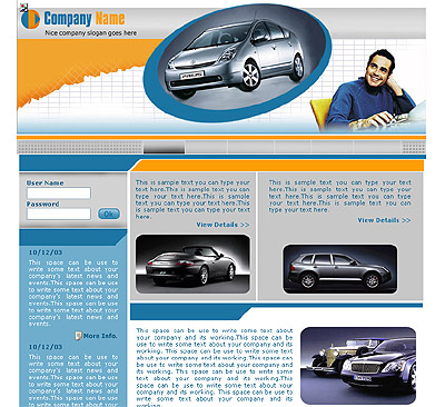 Ecommerce Template Cars -t-0196